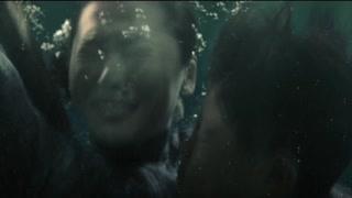 妻儿惨死在水中