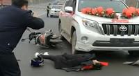 【江西】喜事变悲剧!霸道婚车迎亲途中撞倒路人