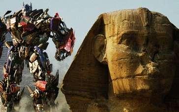 《变形金刚2》片段 汽车人、霸天虎埃及沙漠大战