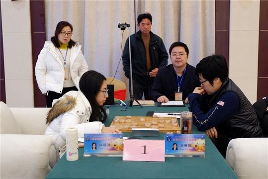 高清-溱湖杯象棋女子名人战决胜局 王琳娜陈丽淳争冠