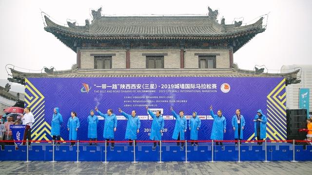 2019西安城墙马拉松精彩瞬间
