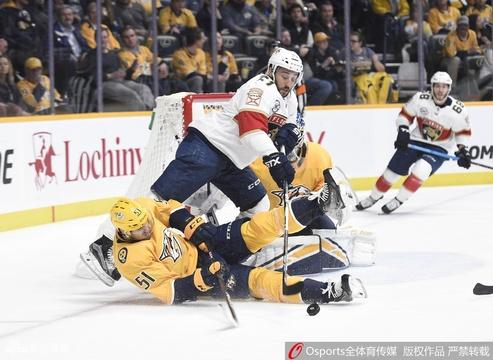 NHL纳什维尔掠夺者2:4负佛罗里达美洲豹
