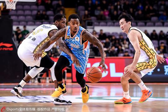 CBA常规赛第19轮:北控男篮119-107新疆男篮
