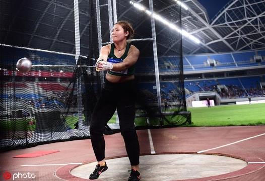 世錦賽選拔賽女子鏈球王崢奪冠