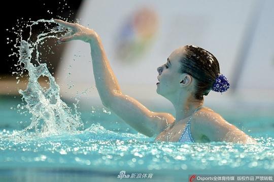 喀山世界花样游泳系列赛