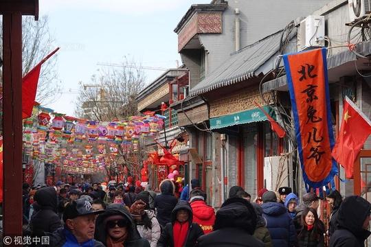 """400年历史厂甸庙会""""文市""""年味浓"""