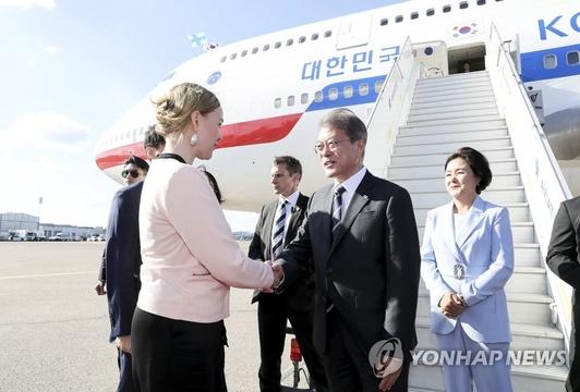韩国总统文在寅开启北欧三国之旅【组图】