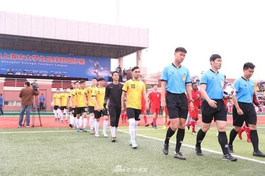 上海市大学生足球联盟杯赛引爆高校足球热情