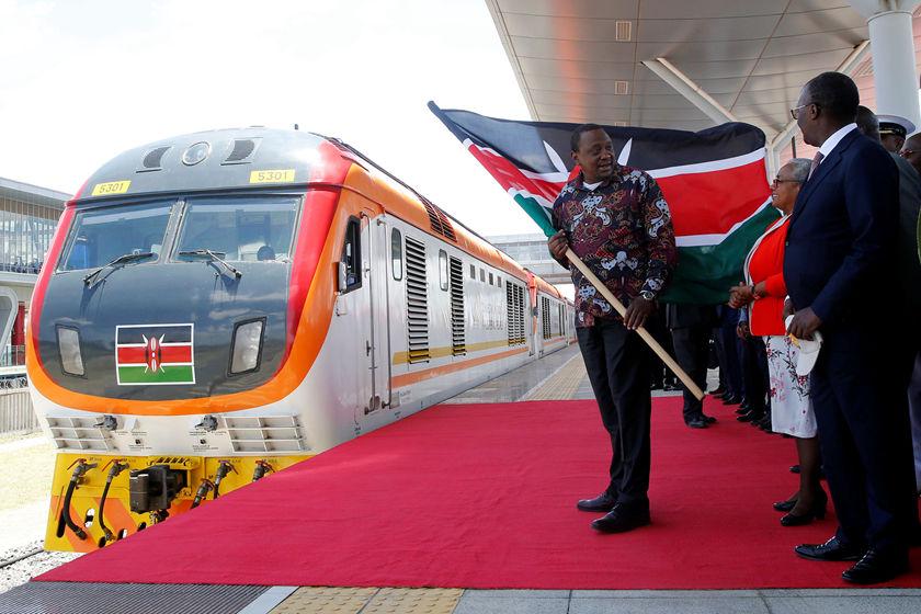 搜狗图片-share555中企承建的肯尼亚内马铁路一期通车(1)
