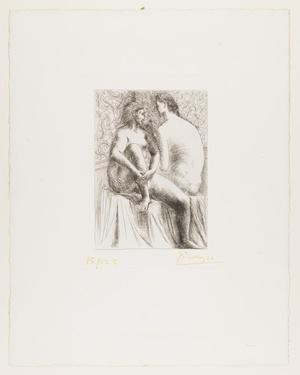 毕加索-Two Female Nudes II (Deux Femmes Nues II)