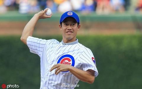 锦织圭为MLB开球