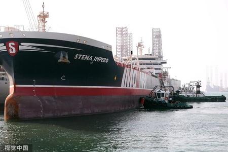 伊朗释放被扣英国油轮
