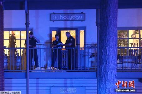 美国佛罗里达州瑜伽馆发生枪击事件