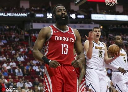 [NBA常规赛]掘金85-112火箭