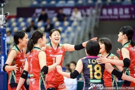 女排亚俱杯日本3-0土库曼斯坦