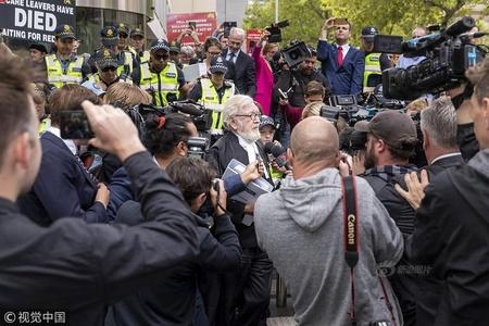 澳77岁神职人员因性侵男童被判监6年