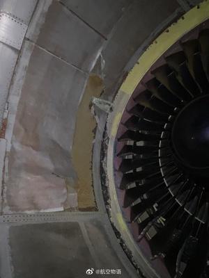 加航767爆胎碎片损伤引擎 盘旋4小时返航
