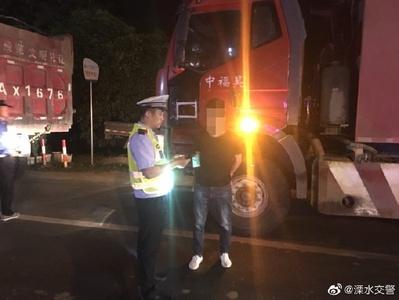 溧水交警连续查获多辆超限货车