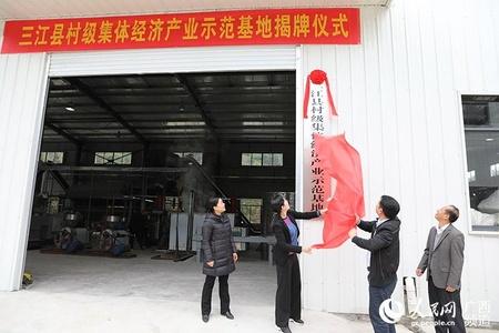 广西三江:村里办起加工厂 集体经济添动能