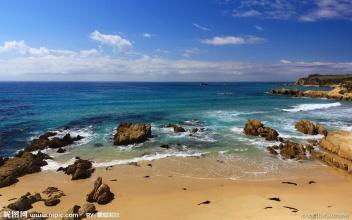 海边风景摄影图 自然风景