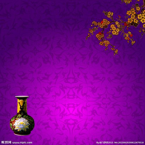 花瓶背景素材素材下载 花瓶背景素材模板下载 花瓶 底纹 底...