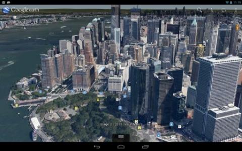 谷歌地球打印大图