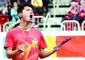 击败马龙 张继科收获男乒世界杯冠军 图