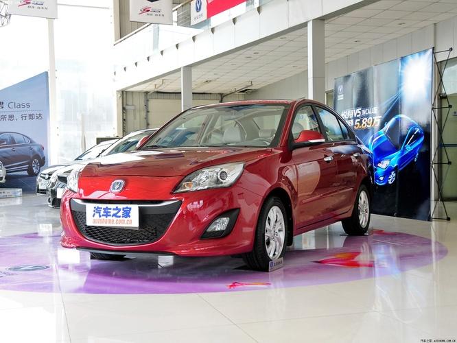 长安汽车悦翔v5 2012款 1.5l 自动运动型