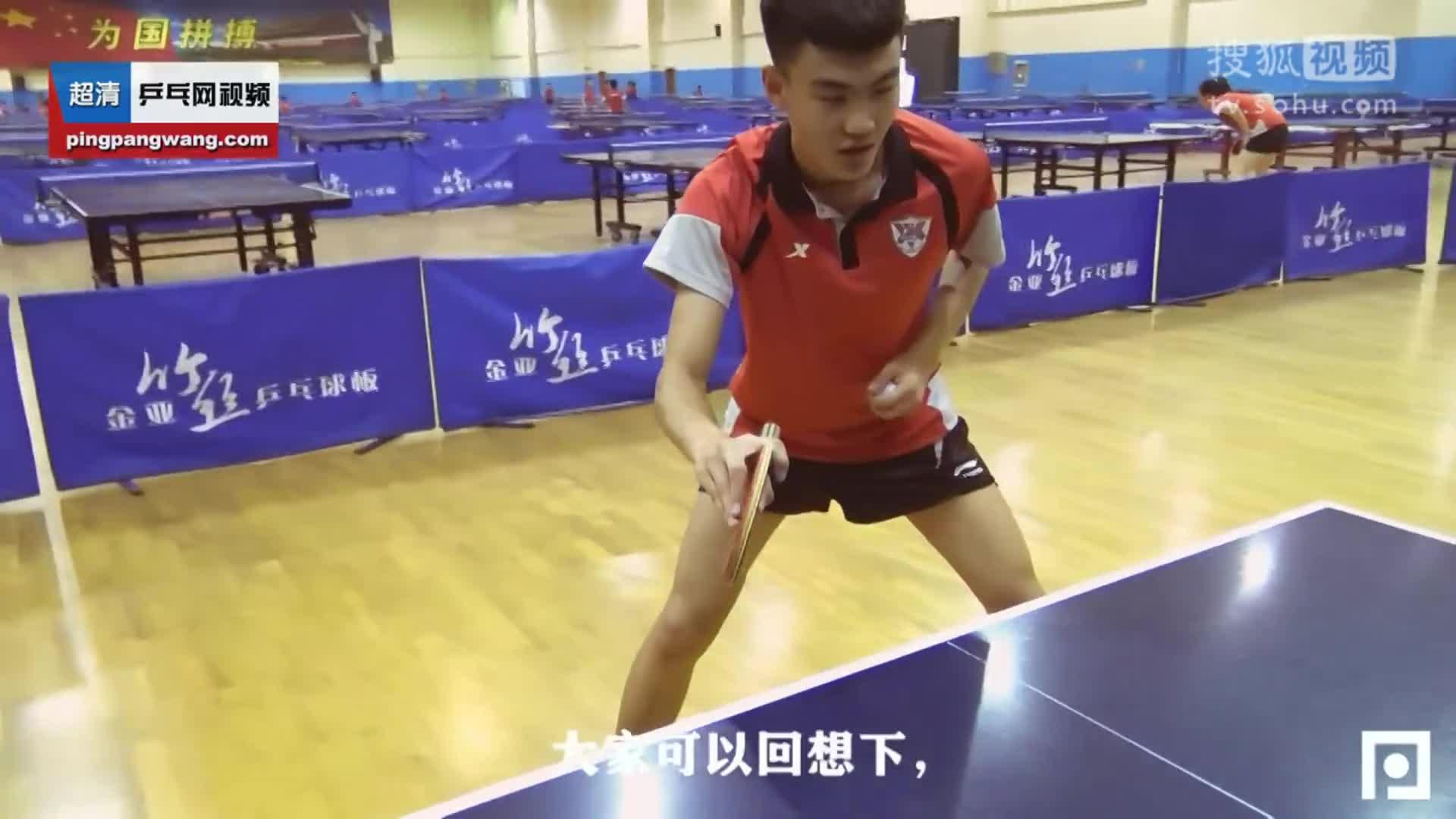 《袁义兴乒乓球直板教学》第二集正手攻动作要领