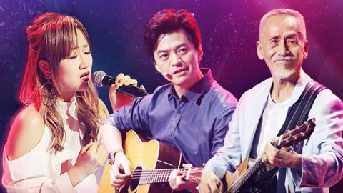 中国好声音之《说散就散》原唱现身 李健携手乐坛传说演绎经典