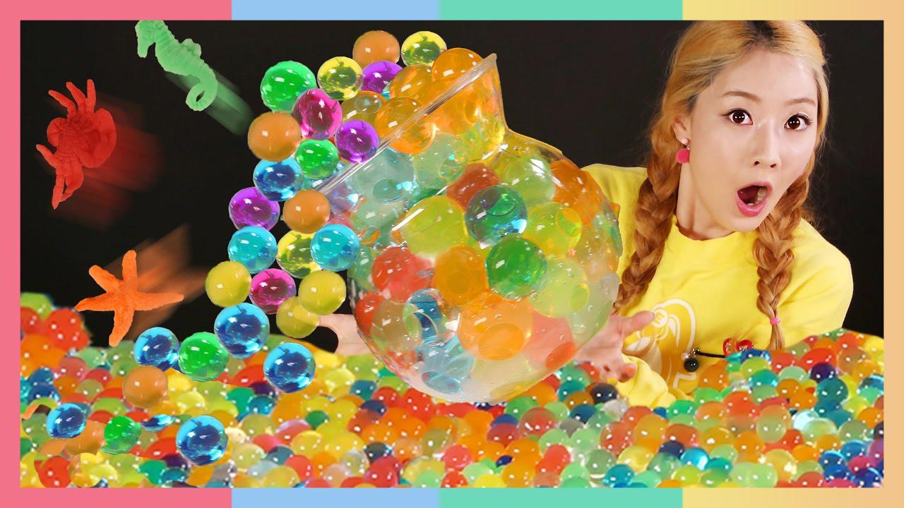 鱼缸要挤爆炸啦!海洋动物们寻找新住处   凯利和玩具朋友们 CarrieAndToys