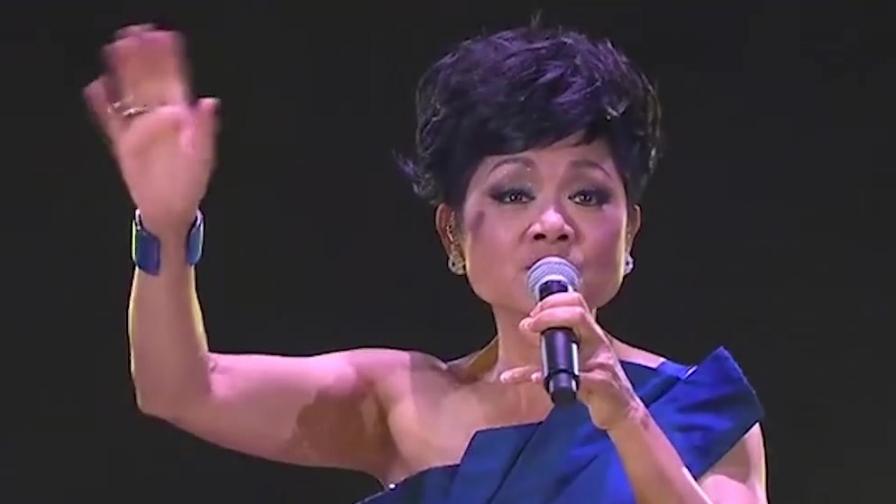 叶丽仪豪情万丈演唱《沧海一声笑》,这是女声中最有江湖感的版本