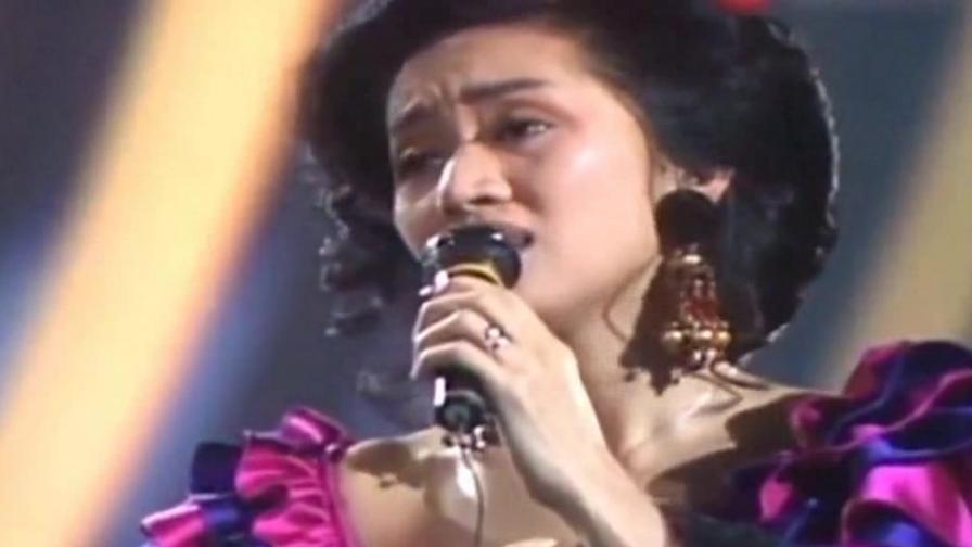 经典:梅艳芳,汤宝如合唱《夕阳之歌》画面太美了!