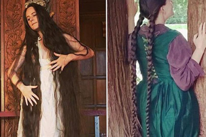 女子留发14年近20年未洗头,至今长1.83米,被称为现实版长发公主