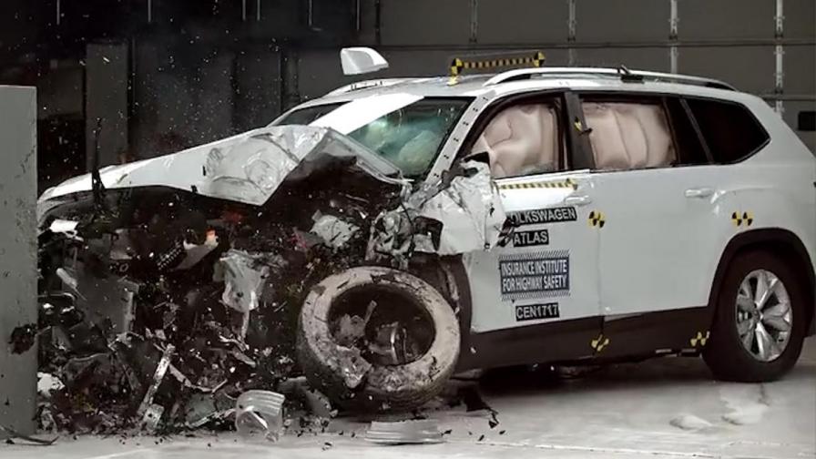 大众途昂碰撞测试,这样的SUV你会买吗?
