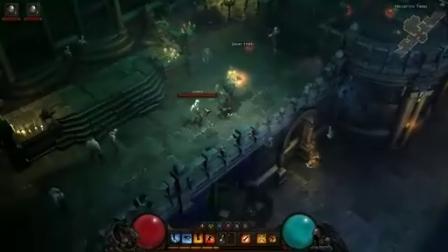 暗黑破坏神3游戏过程动画