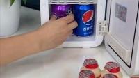 冰箱放宿舍,可以放饮料水果#小冰箱#好物