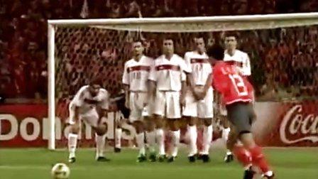 【猴子派】2002年韩日世界杯季军争夺战:土耳其3:2韩国