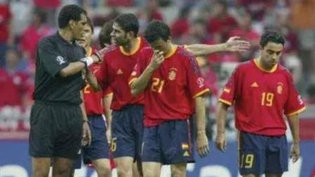 经典回顾2002年韩日世界杯韩国5-3西班牙,点球取胜留一世'黑哨'