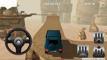 越野卡车驾驶爬山44蓝色锤子44解锁安卓游戏