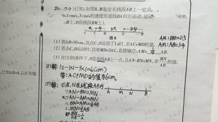 初中数学作业讲评