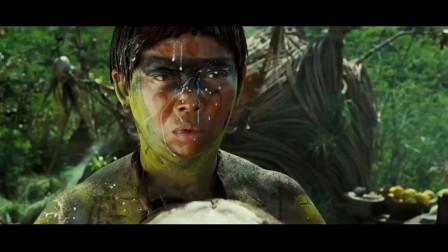 加勒比海盗2: 聚魂棺:这样荤素搭配的烤串对于土著来说实在美味,