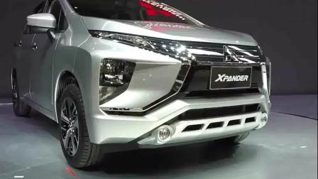 2020款三菱Xpander多版本亮相车展1