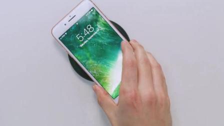 iPhone8的无线充电怎么玩? 拍个视频给你看, 大家一起来新机开箱