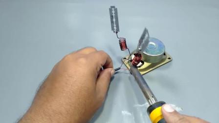 在没有手机卡和无线路由器的情况下, 如何用刀片和漆包线为手机建立