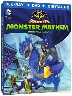 蝙蝠侠无极限:怪兽来袭剧照