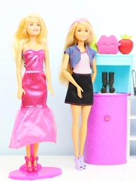 芭比娃娃趣盒子