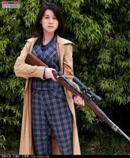 女狙击手剧照