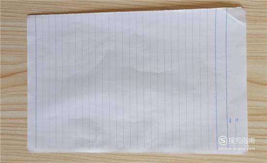 简单折纸:一张纸就能折成的宝剑折法
